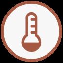 Icône température