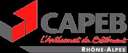 Logo Capeb Rhône-Alpes, l'Artisanat du Bâtiment
